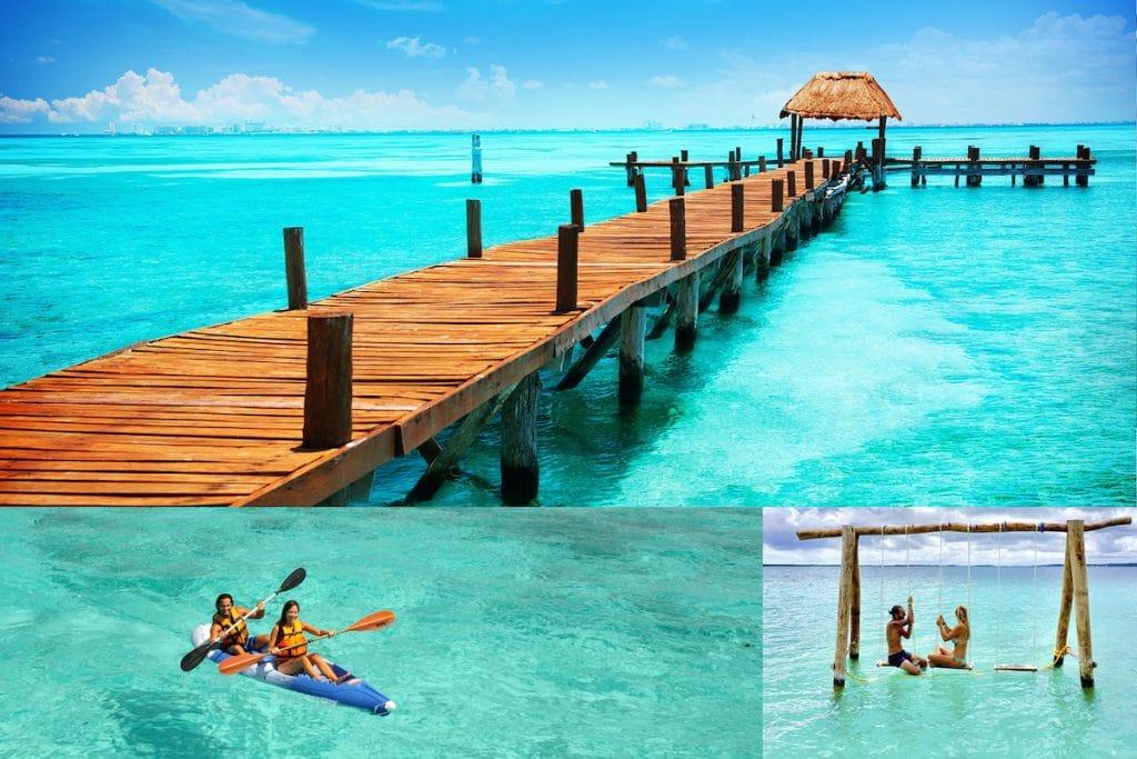 plage lagune de bacalar